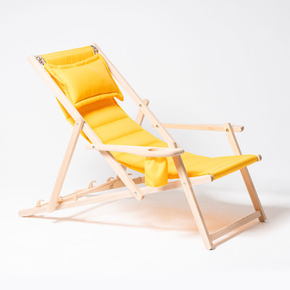 Leżak żółty MyDeer