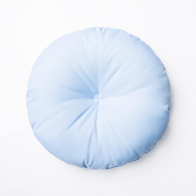 poduszka blekitna