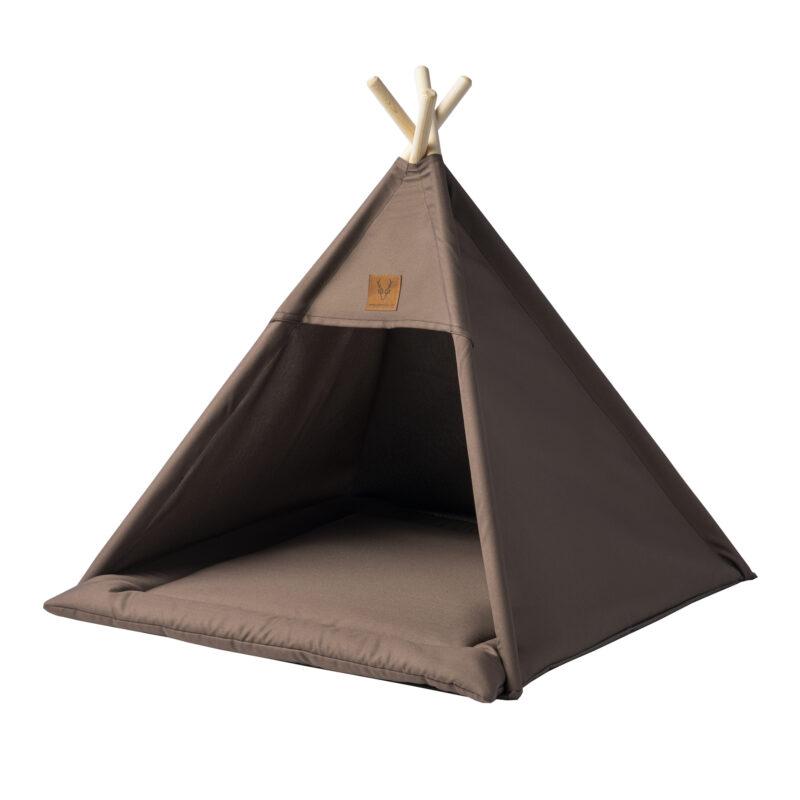 namiot brązowy