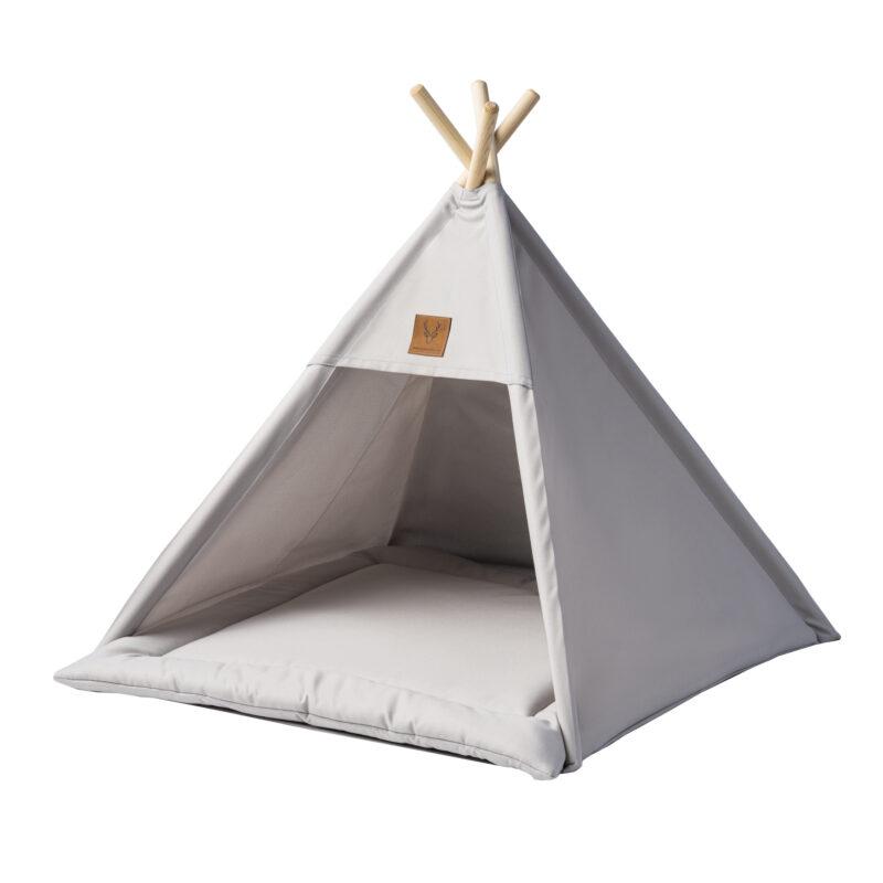 namiot szary